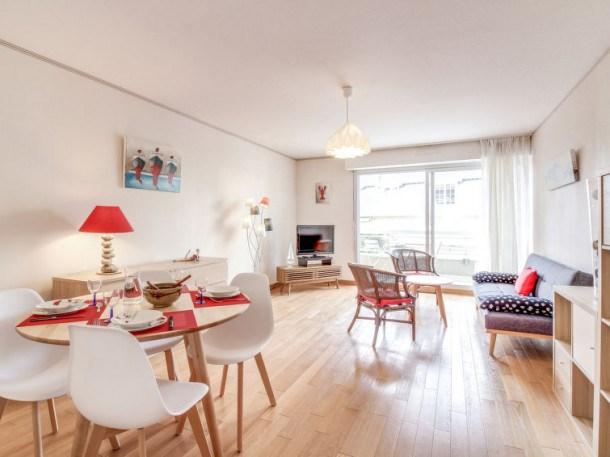 Location vacances Dinard -  Appartement - 4 personnes - Télévision - Photo N° 1