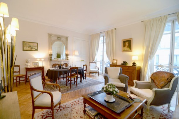 Location vacances Paris 16e Arrondissement -  Appartement - 4 personnes - Billard - Photo N° 1