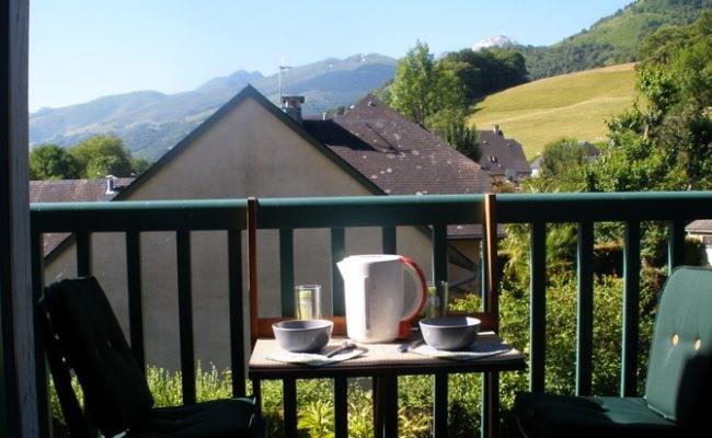 Petit déjeuner face au Pic du Midi