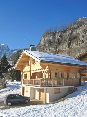 Location vacances Le Grand-Bornand -  Maison - 8 personnes - Terrasse - Photo N° 1