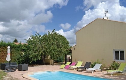 Location vacances Bassan -  Maison - 8 personnes - Barbecue - Photo N° 1