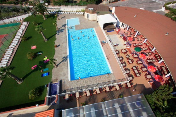 Camping les Dunes - Mh 2ch 6pers + Terrasse bois semi-couverte