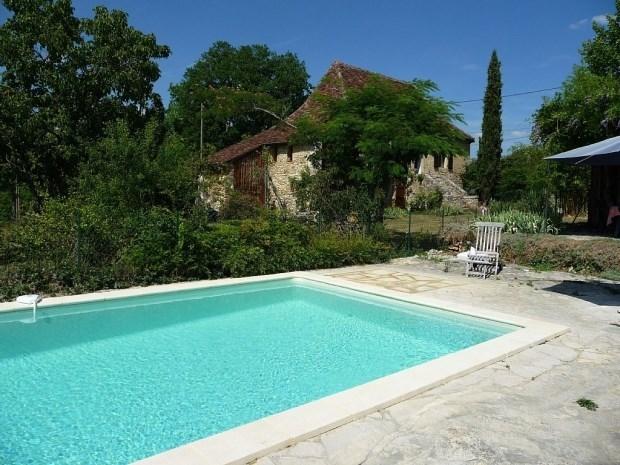 Maison de campagne en pierre, jardin et piscine proche de la Dordogne  (Lot, Causse, Périgord, Bouriane) - Rouffilhac