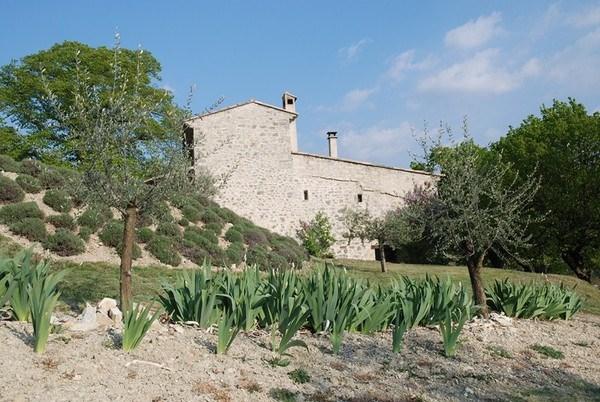 EN DRÔME PROVENÇALE,   belle maison en pierres, 4 façades