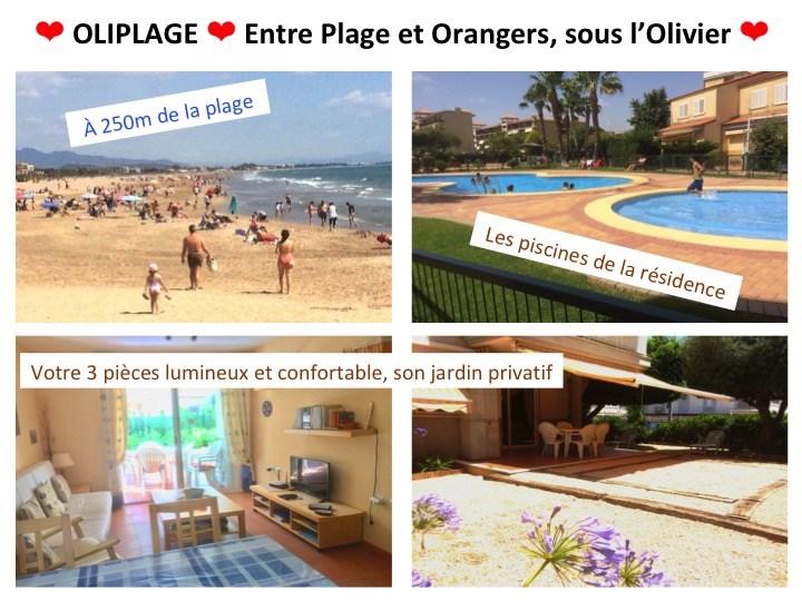 Location vacances Canet d'En Berenguer -  Appartement - 5 personnes - Barbecue - Photo N° 1