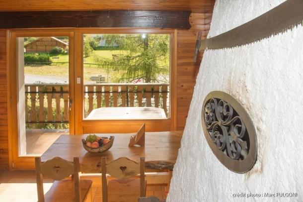 Appartement 42m² dans belle résidence terrasse wifi vue rivière proche pistes