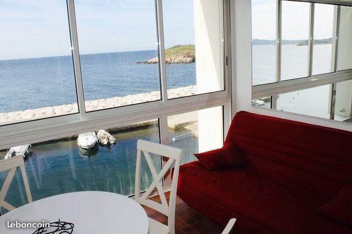 Appartement sur mer residence athena port