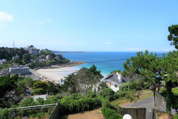 Maison VUE MER rénovée sur les hauteurs de la plage Trestrignel en PERROS-GUIREC