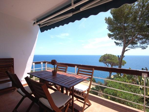Location vacances Tossa de Mar -  Appartement - 10 personnes - Balcon - Photo N° 1