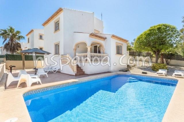 House for 6 ppl. with pool, Jávea/Xàbia