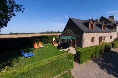 Ferienwohnungen La Selle-en-Coglès - Hütte - 6 Personen - Grill - Foto Nr. 1