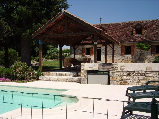 Location vacances Vayrac -  Gite - 8 personnes - Barbecue - Photo N° 1