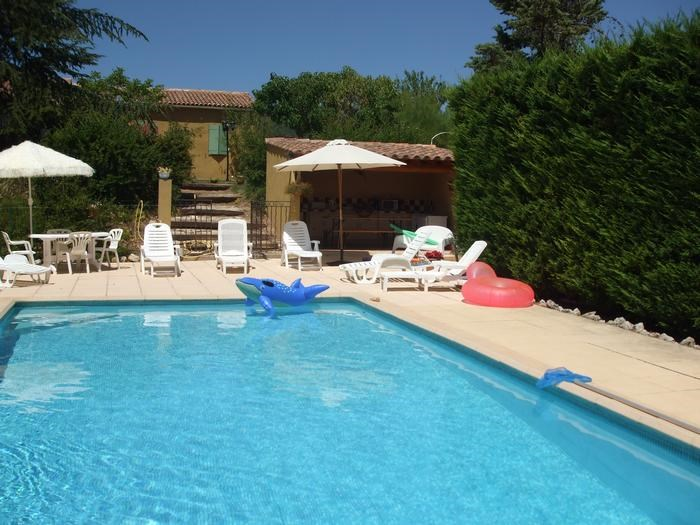Location vacances La Bastide-des-Jourdans -  Maison - 6 personnes - Barbecue - Photo N° 1