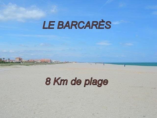 8 km de plage