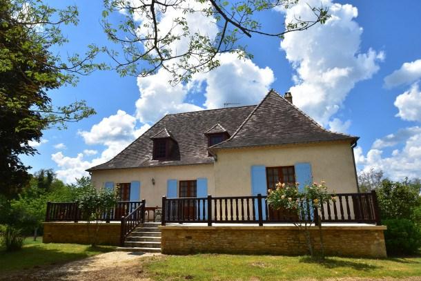 Location vacances Villefranche-du-Périgord -  Maison - 6 personnes - Barbecue - Photo N° 1
