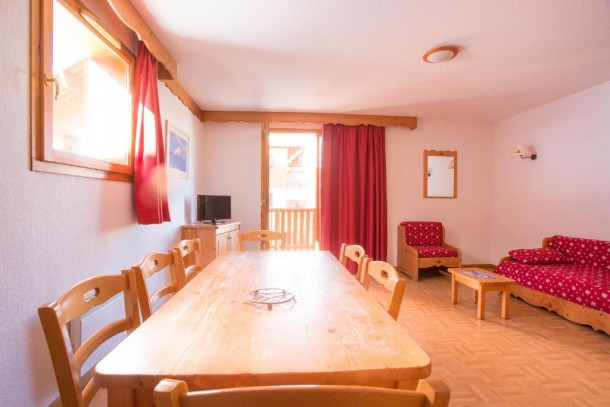 Location vacances Puy-Saint-Vincent -  Appartement - 6 personnes - Télévision - Photo N° 1