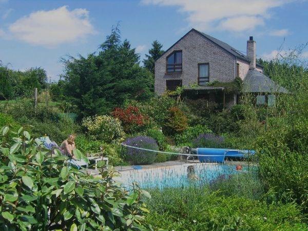 Maison pour 12 pers. avec piscine, Somme-Leuze