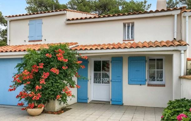 Location vacances La Tranche-sur-Mer -  Maison - 8 personnes - Jardin - Photo N° 1