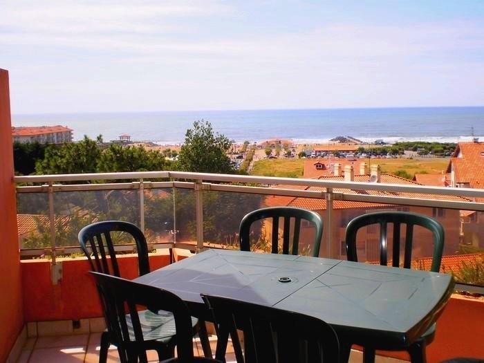 Terrasse vue panoramique 180°  Océan