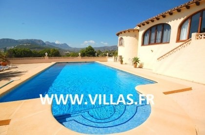 Location vacances Calp -  Maison - 8 personnes - Barbecue - Photo N° 1