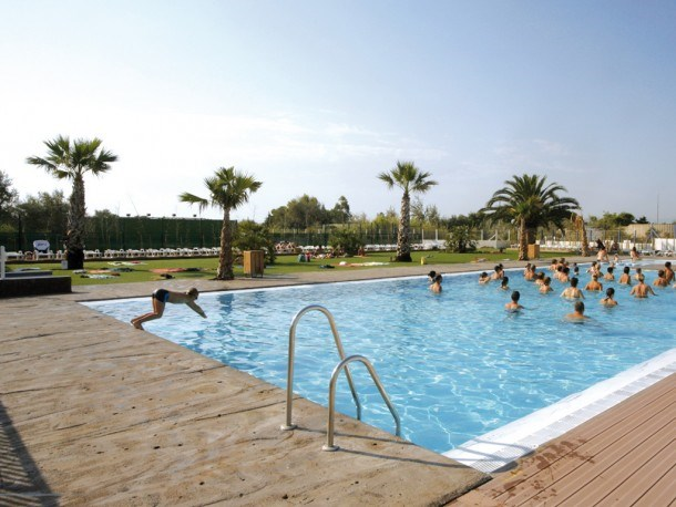 Location vacances Torreilles -  Maison - 6 personnes - Court de tennis - Photo N° 1