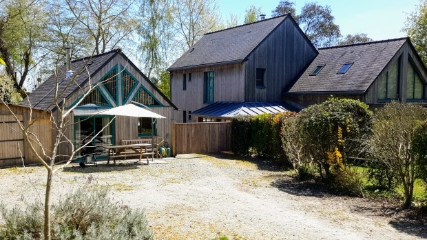 Hut wood has to rent(praise) has the night, in the - Plouër-sur-Rance