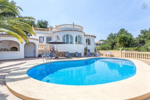 Villa Michel: Superbe villa traditionnelle espagnole à Jávea, avec magnifiques vues depuis la terras