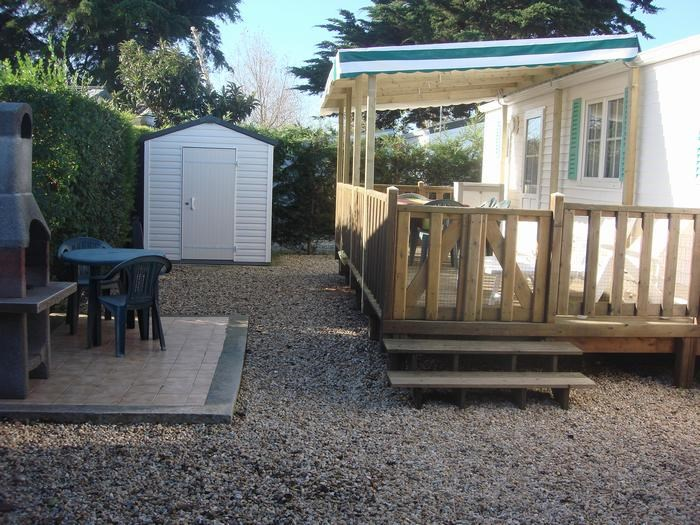 Mobil Home pour 6 pers. avec piscine, Saint-Denis-d'Oléron