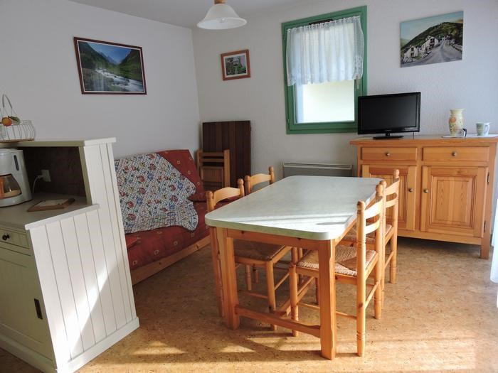 Holiday rentals Saint-Lary-Soulan - Apartment - 5 persons - Garden furniture - Photo N° 1