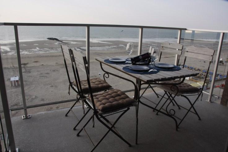 Appartement de vacances 2 chambres, Vue front de mer