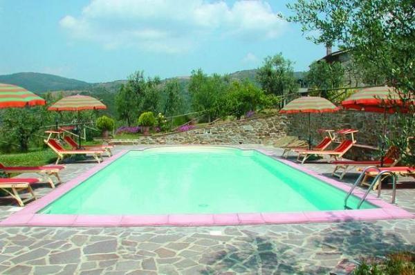 Toscane,Castiglion Fiorentino, maison de campagne restaurée,4 pers., piscine privée 10 x 5m, très belle vue !