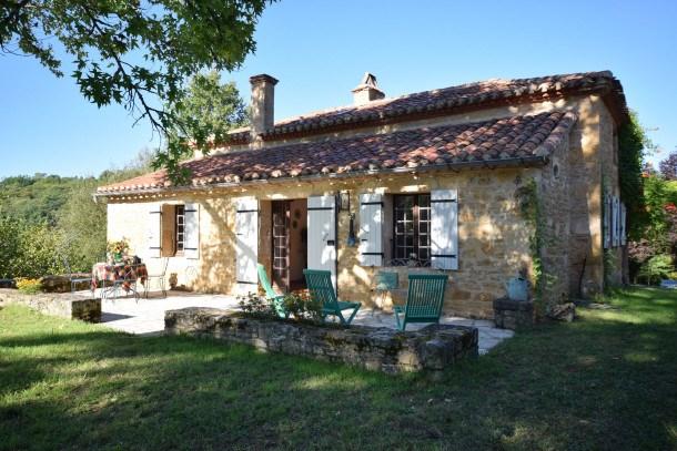 Location vacances Sauveterre-la-Lémance -  Maison - 6 personnes - Barbecue - Photo N° 1