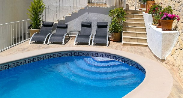 Location vacances Benissa -  Appartement - 4 personnes - Barbecue - Photo N° 1