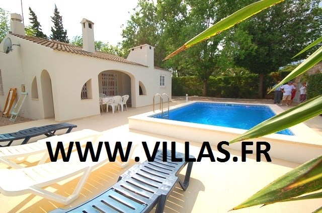 Holiday rentals l'Ametlla de Mar - House - 10 persons - BBQ - Photo N° 1