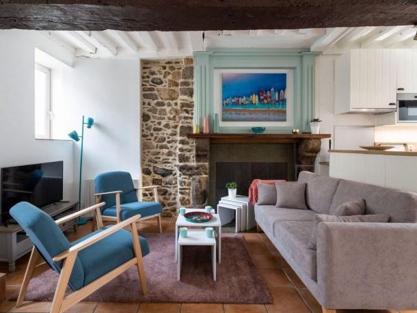 Location vacances Châteauneuf-d'Ille-et-Vilaine -  Appartement - 7 personnes - Télévision - Photo N° 1