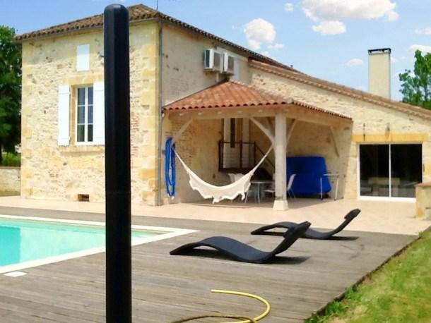 Location vacances Monsempron-Libos -  Maison - 10 personnes - Barbecue - Photo N° 1