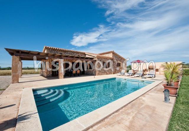 A louer superbe villa pour 7 avec piscine privée à Felanitx Iles Baléares |amet