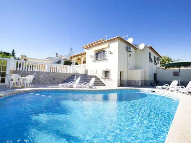 Location vacances Calp -  Maison - 9 personnes - Barbecue - Photo N° 1