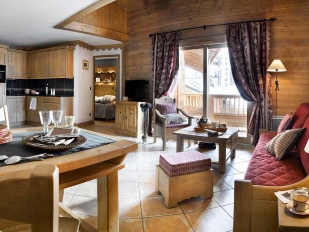Location vacances Les Belleville -  Appartement - 6 personnes - Billard - Photo N° 1