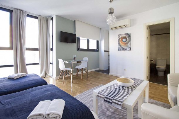 Location vacances Madrid -  Appartement - 2 personnes - Télévision - Photo N° 1