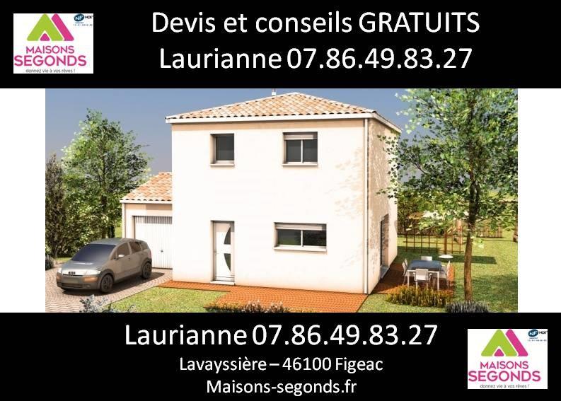 Maison  4 pièces + Terrain 4282 m² Cajarc par MAISONS SEGONDS
