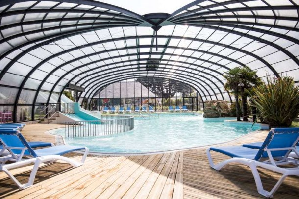 Camping L Emeraude - Cottage Confort  3 chambres 6 personnes