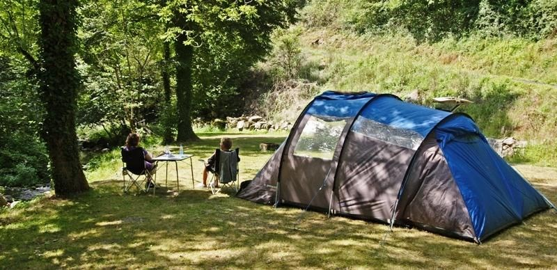 Camping Le Lauradiol, 18 emplacements, 4 locatifs
