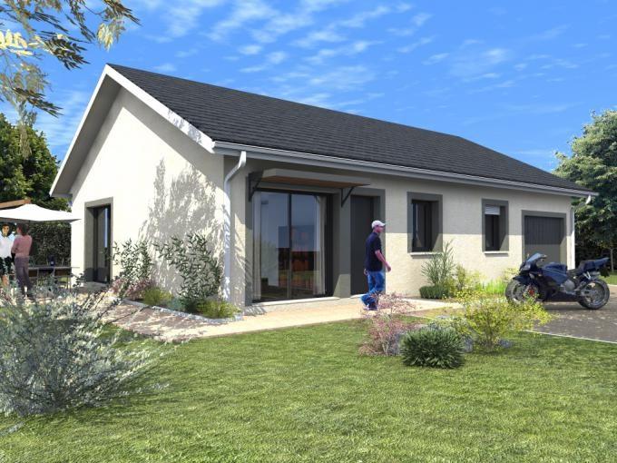Maison  3 pièces + Terrain 400 m² Virignin par DEMEURES ET RESIDENCES