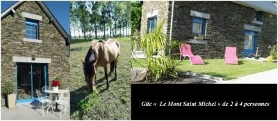 Location vacances Pontorson -  Gite - 4 personnes - Barbecue - Photo N° 1