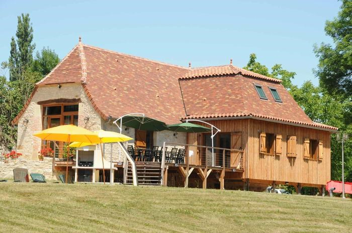 Location vacances Lissac-et-Mouret -  Maison - 10 personnes - Barbecue - Photo N° 1