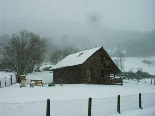 chalet dans le parc des volcans d'Auvergne
