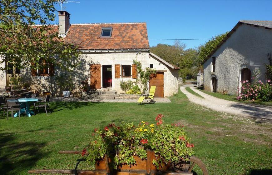 Location vacances Limogne-en-Quercy -  Gite - 4 personnes - Barbecue - Photo N° 1