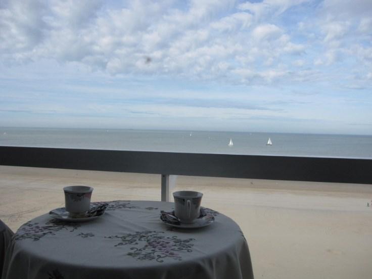 appartement te Blankenberge zeedijk  met prachtig zeezicht