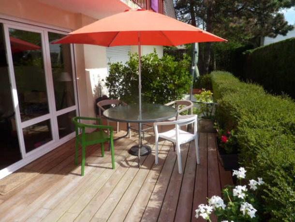 Location vacances Merville-Franceville-Plage -  Appartement - 4 personnes - Jardin - Photo N° 1